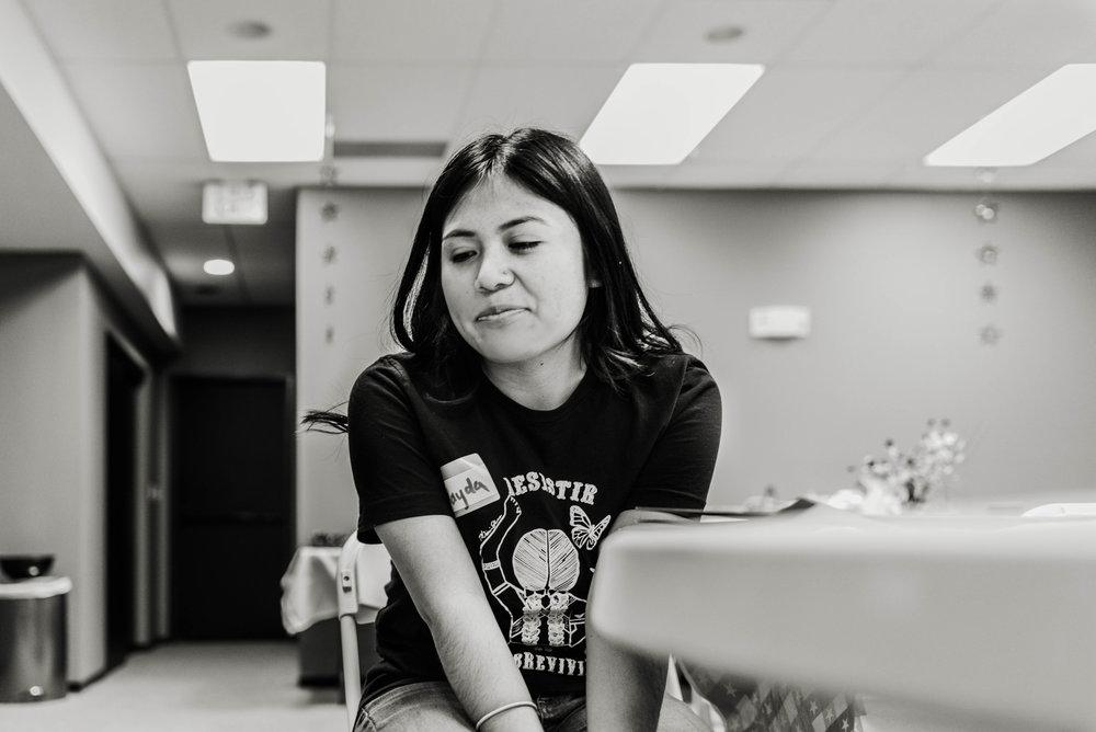 Dreamer and activist Nayda Benitez