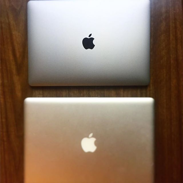 When your #gear can't keep up, it's time for an #upgrade  #macbookpro #7yeardifference #businesstools #apple
