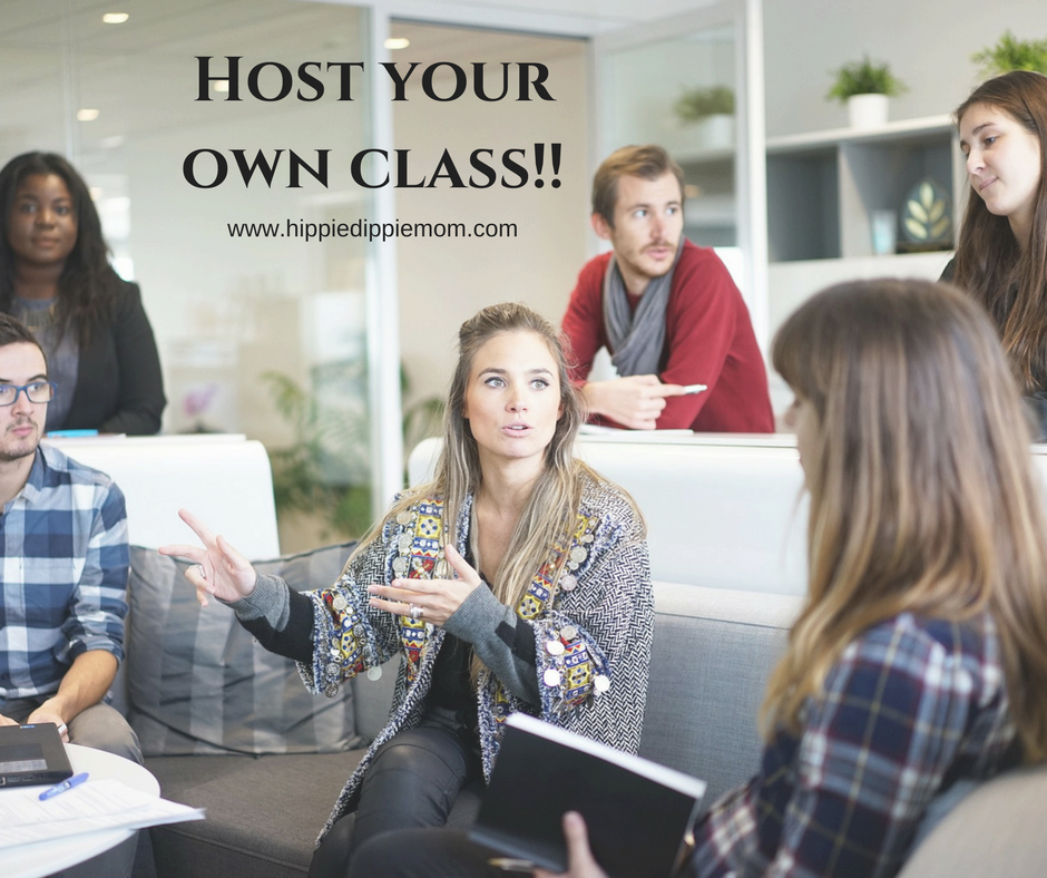 Host a class (in person or online) to learn more about essential oils and to earn FREE product!
