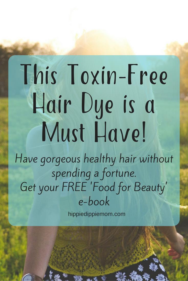toxin free hair dye