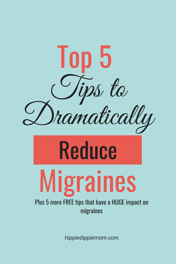 reduce migraines