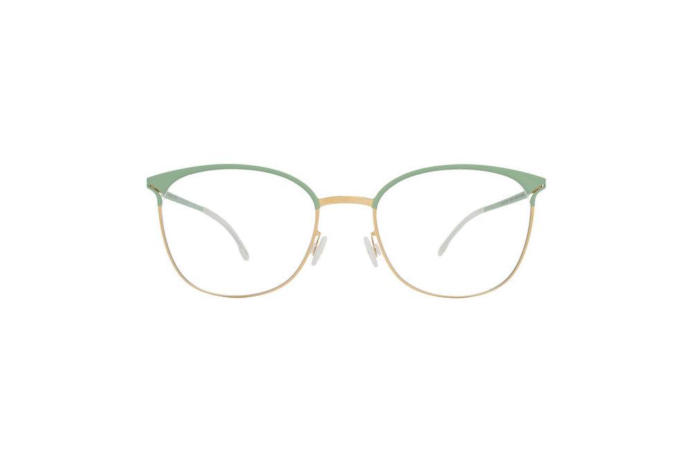 mykita, EDDA - Gold/Aqua Green