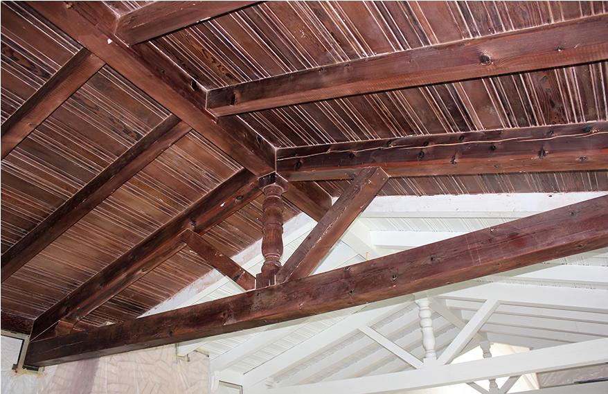 Baywood Knolls San Mateo Ceiling Restoration
