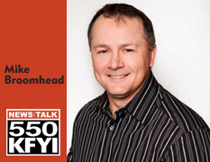 Mike Broomhead 550 KFYI