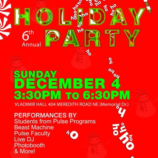 Dec 4: Pulse Holiday Party