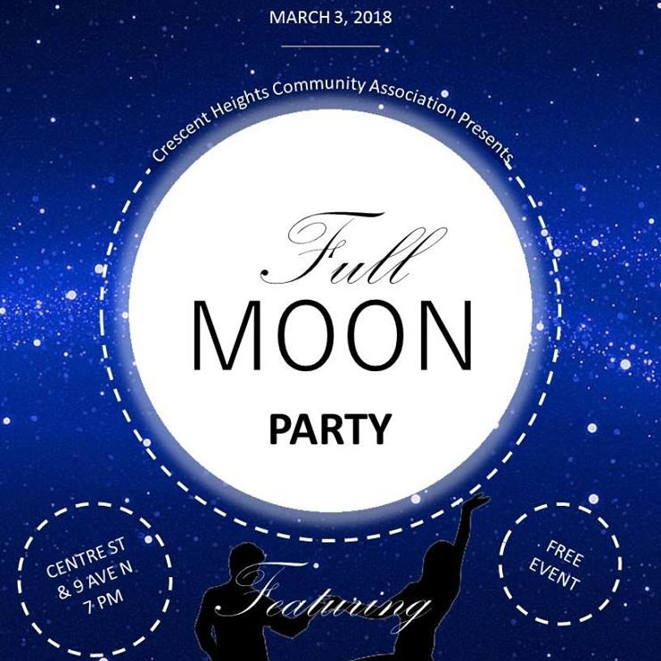 March 3: Full Moon Party