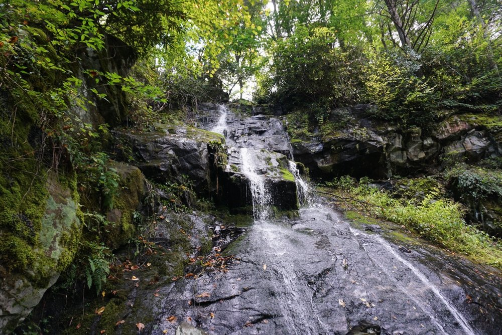 We made it to the waterfall! Ahhhhh, serenity.