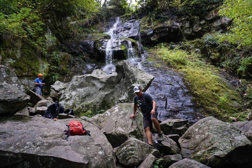 """The mountains melt before him & the valleys split apart, like wax before the fire, like water rushing down a slope."" (Micah 1:4)"
