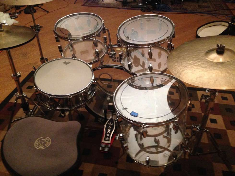 Clear Vintage Drums in Studio A