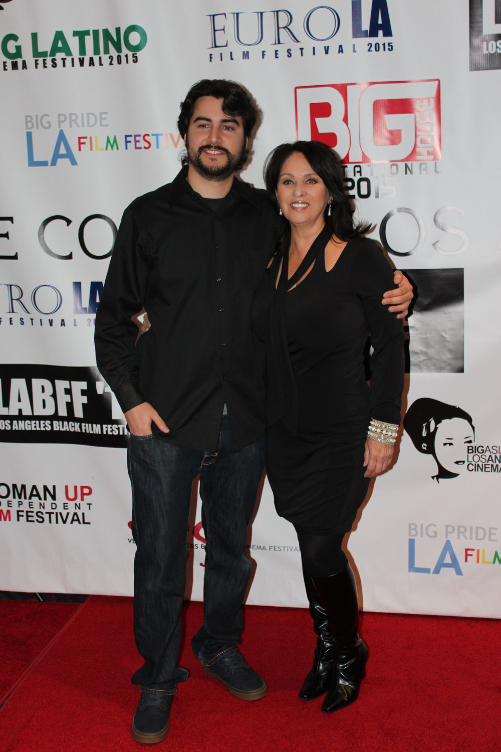 Filmmaker Sean Daniel Bauer and Executive Producer Elizabeth Ann Guevara
