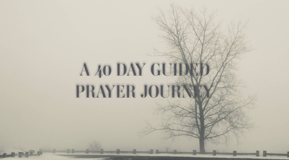 40-Day guided prayer journey - For over 20 years, I have struggled to develop and maintain a consistent prayer life. I deeply admire those to whom prayer comes easily and those who spend time consistently praying. Over time and with practice, I formed a prayer model for myself - a five step model of short, simple and spirt-led prayers.