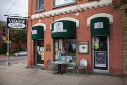 The Little Village Cafe in Baraboo