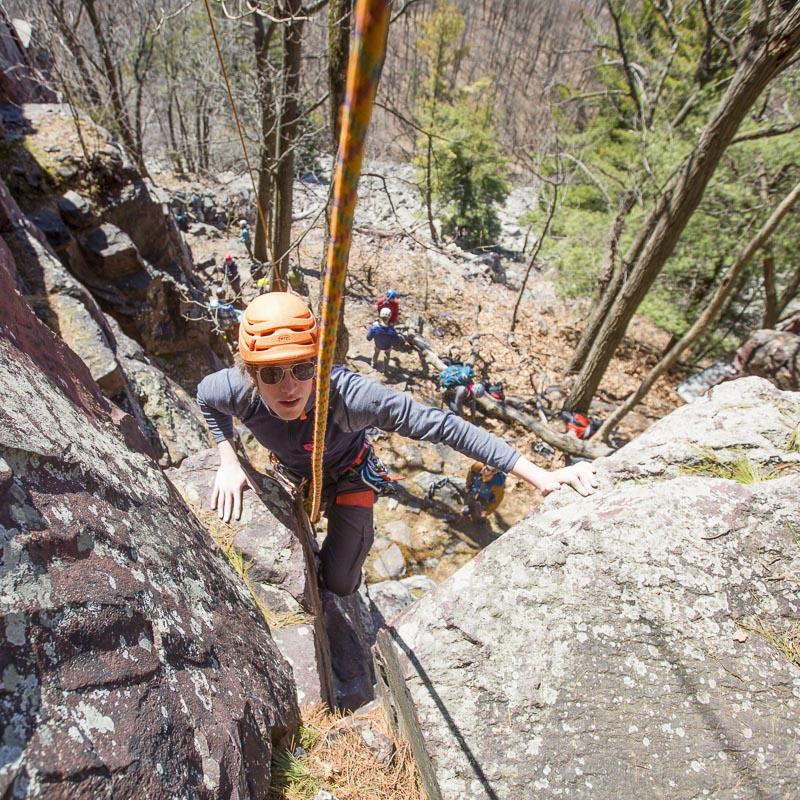 Devils Lake In Off Season In Black And >> Climbing Tech Tips And Park News Devils Lake Climbing Guides