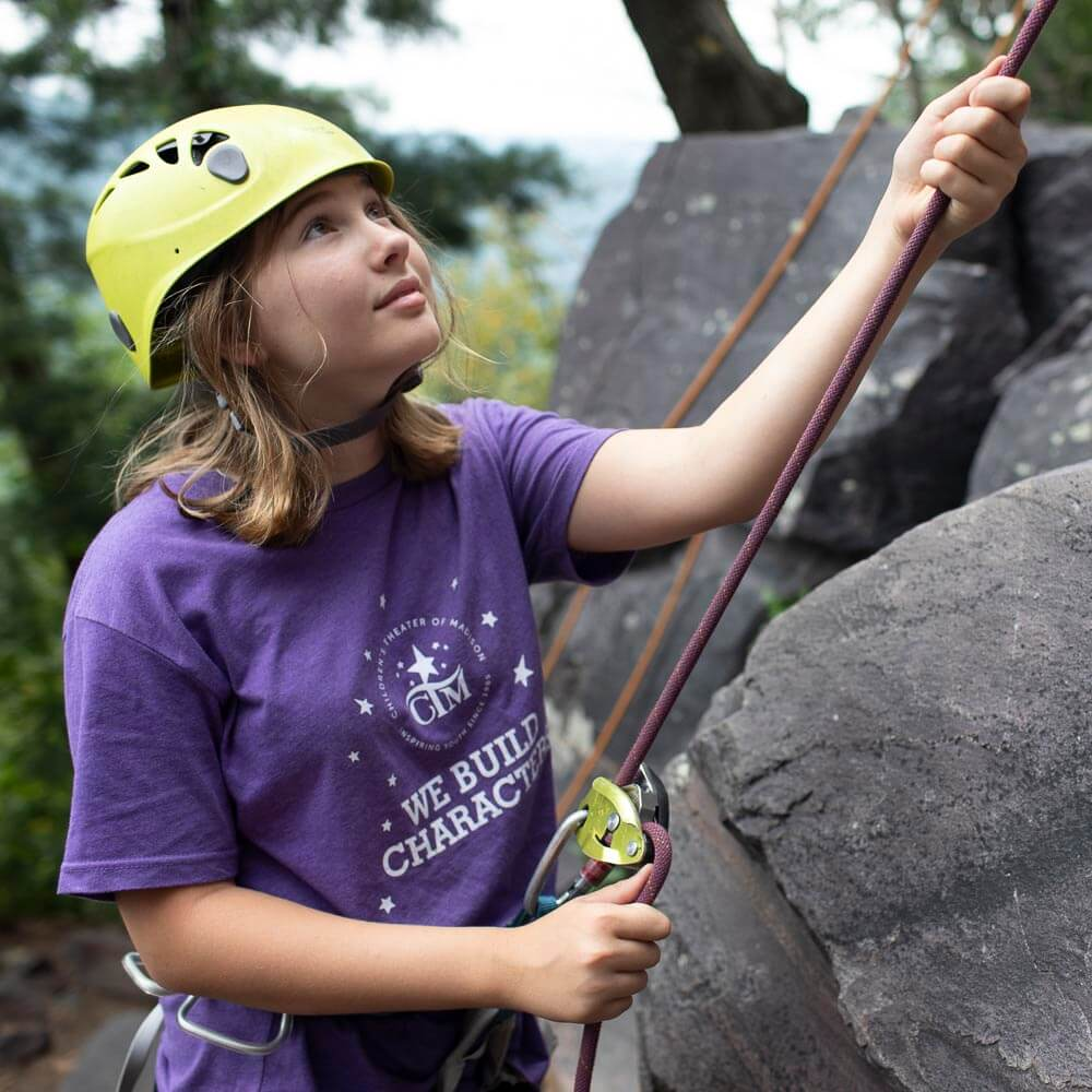Kids can belay (and most like to!).