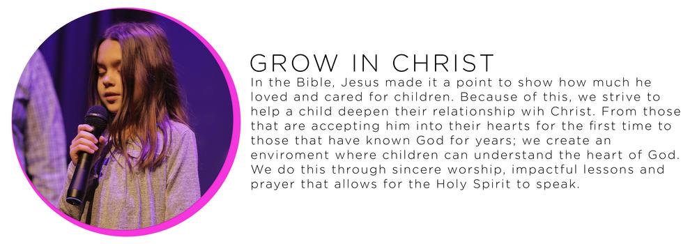 children growing in christ