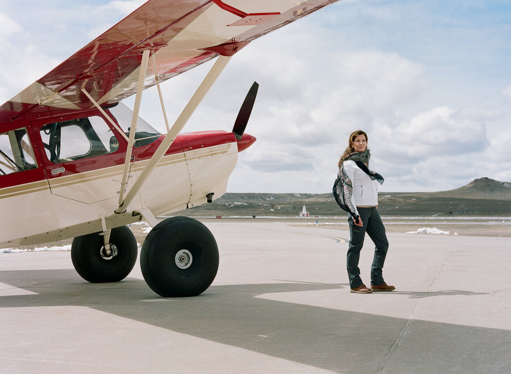 Backcountry pilot, rural airstrip advocate, director of the Upton Municipal Airport