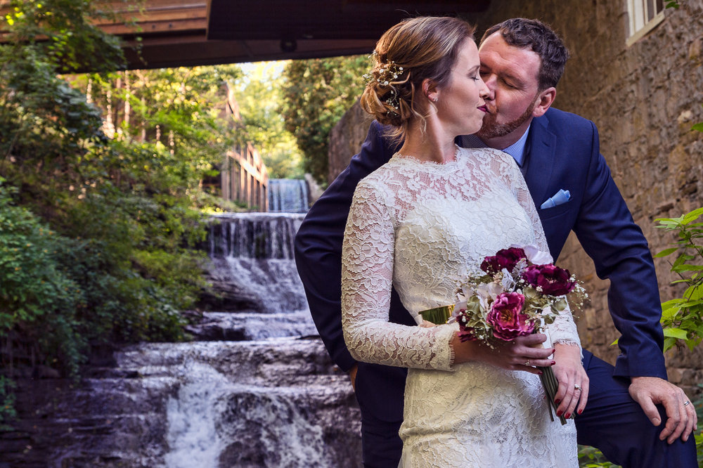 Images were photographed at the wedding of Maegan and Nathan on September 9th, 2017 at The Ancaster Mills in the 1812 Room.