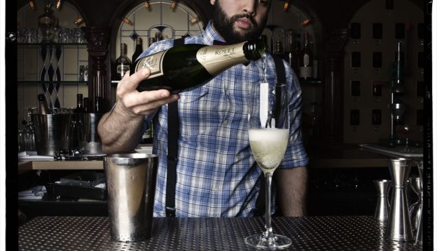 """Don't Fear the Champagne"" - New York Observer"