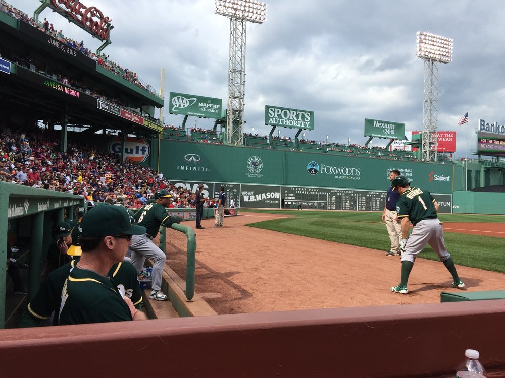 June 6, 2015, Fenway Park (Boston, MA)