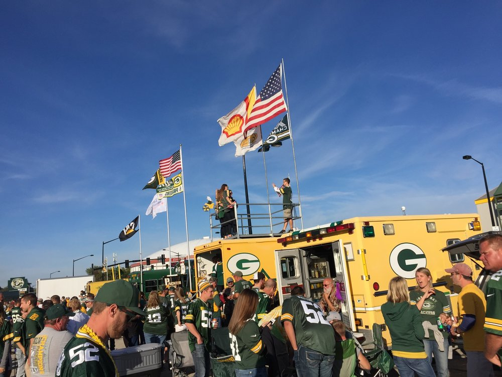 September 20, 2015, Lambeau Field (Green Bay, WI)