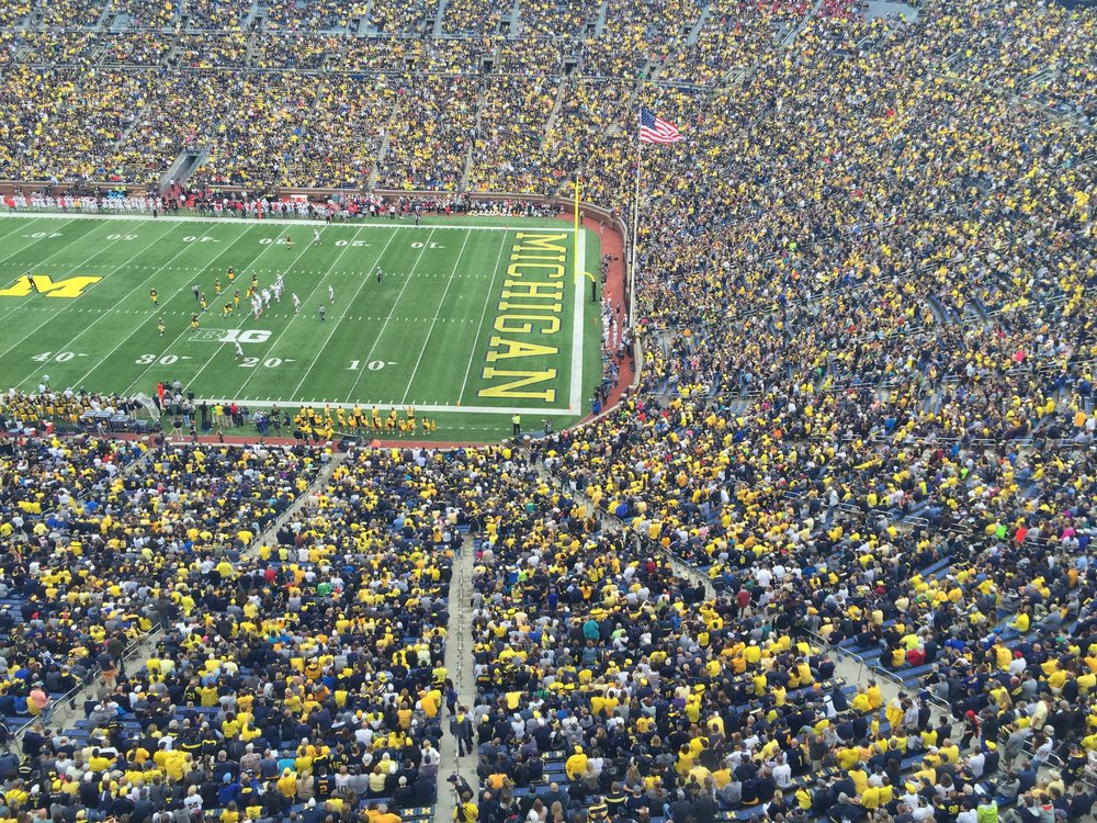 September 19, 2015, Michigan Stadium (Ann Arbor, MI)