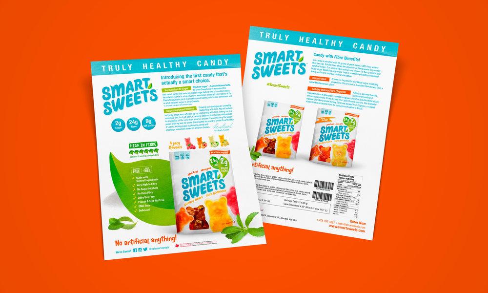 smartsweets retailer sell sheet