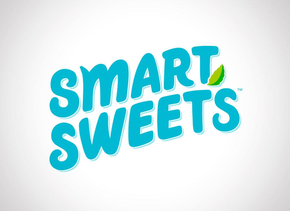 smart sweets logo design