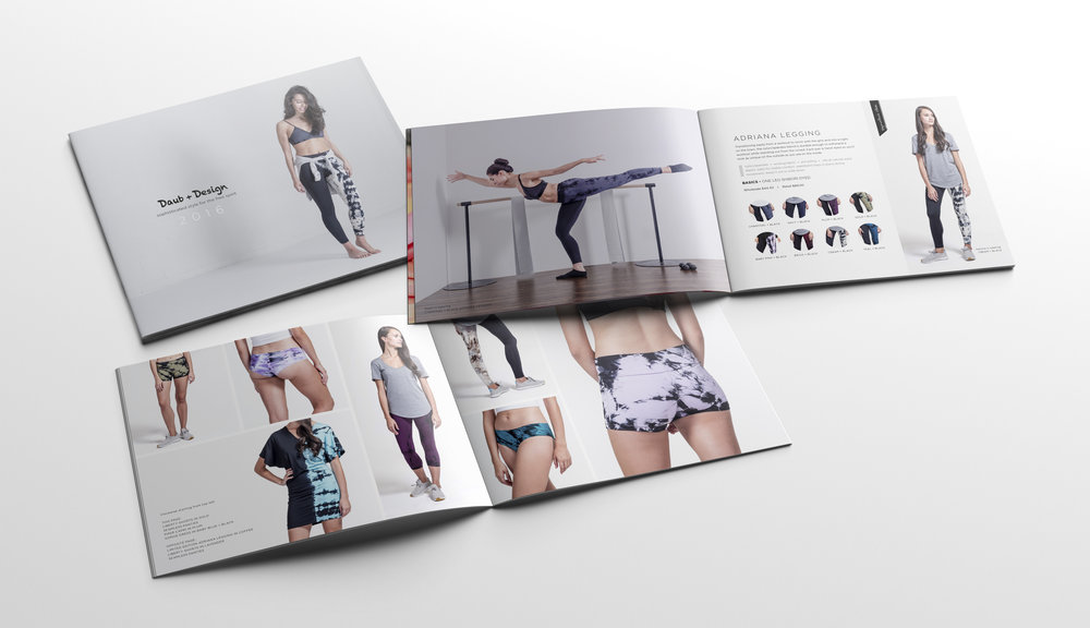 Daub+Design look book design