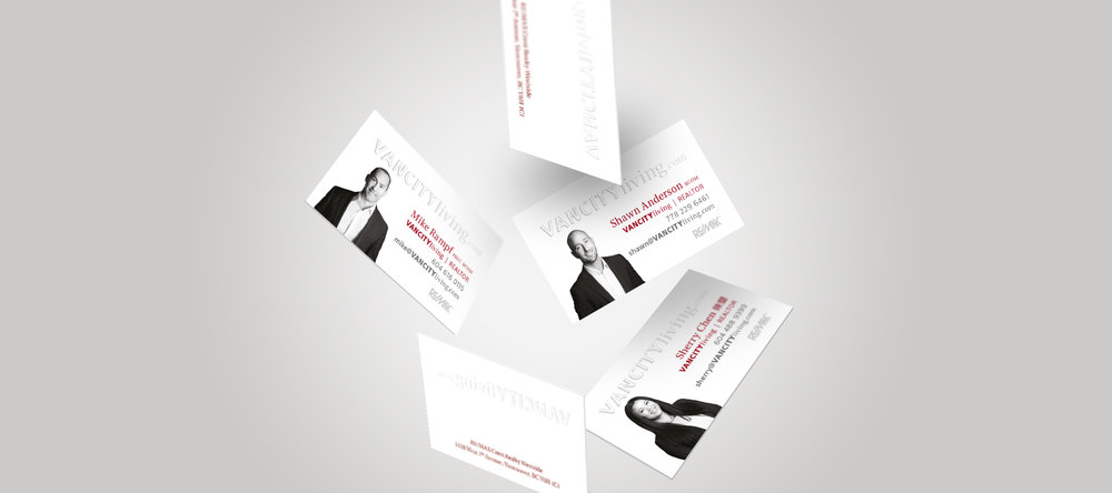 embossed realtor business cards