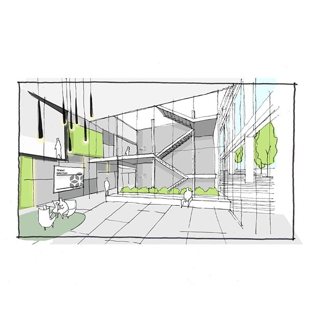 Concept Sketch for a Lobby Design - we do a few of these before we work out exactly what we're looking for! This one has been updated long since, but we still like looking back at previous concepts!⠀⠀⠀⠀⠀⠀⠀⠀⠀ .⠀⠀⠀⠀⠀⠀⠀⠀⠀ .⠀⠀⠀⠀⠀⠀⠀⠀⠀ .⠀⠀⠀⠀⠀⠀⠀⠀⠀ #architecture #melbournearchitecture #archilovers #australianarchitecture #architecurelover #archdaily #instaarchitecture #instaarch #architecture_hunter #architizer #soarch #next_top_architects #design #architect #melbournearchitect #architecturalsketch #architecturalsketches #procreate