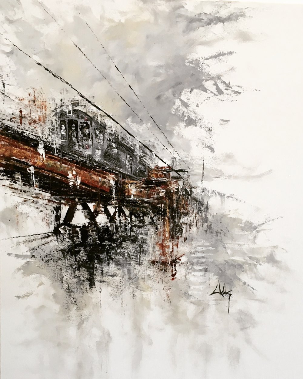 SOLD Last Train Out