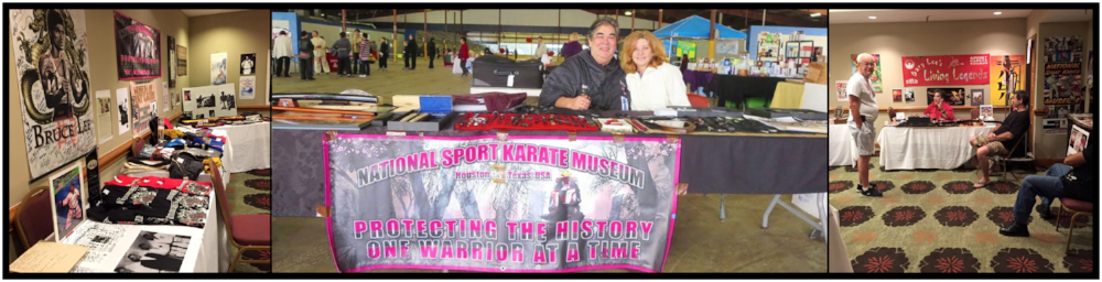 Professor Gary Lee from the National Sport Karate Museum, based out of Houston, Texas will be one of this years major supporters and sponsors!