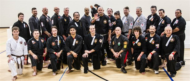 "Grand Master John Patrick Nieto teaching at the ""Last Man Standing"" event in Dallas Texas in August, 2016"