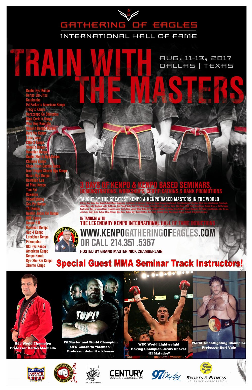 MMA Track Instructor flyer