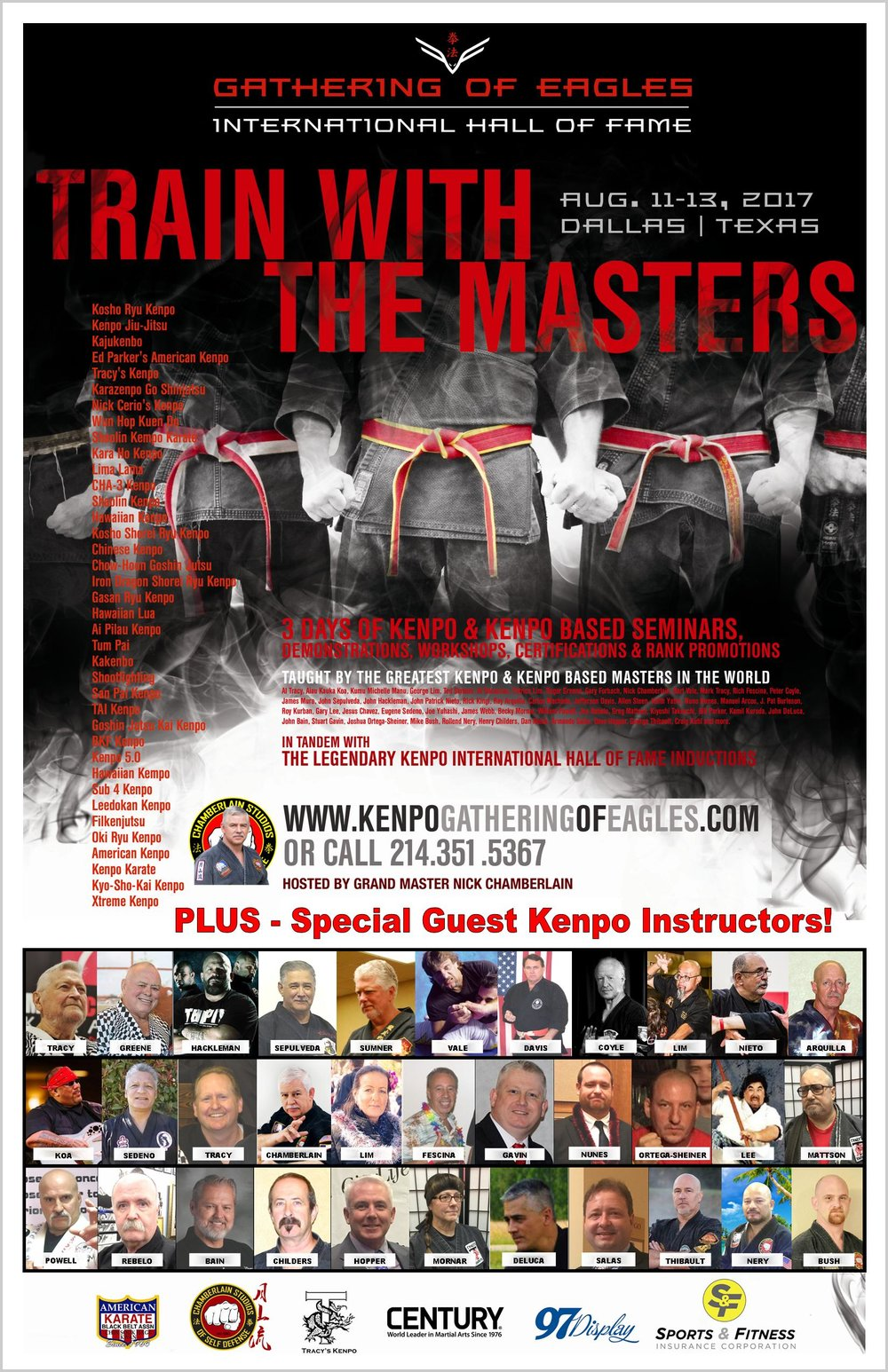 Kenpo Instructor Track Flyer