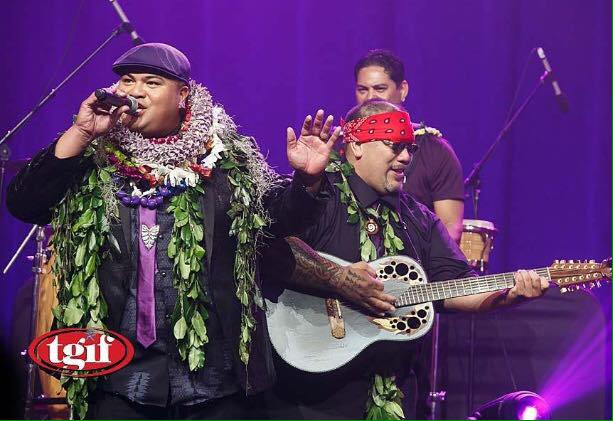 Aiau Koa and 2017 Grammy winner Kalani Pea