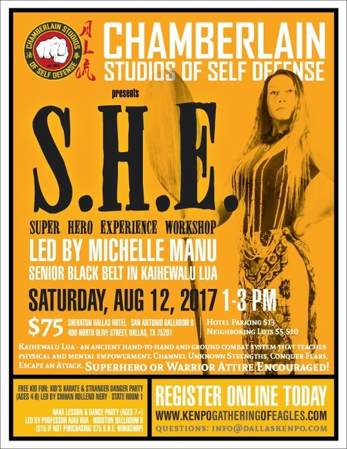 SHE Workshop at the GOE 2017