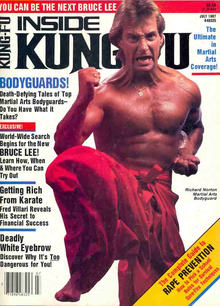 Getting rich from karate - Inside Kung F, July 1987