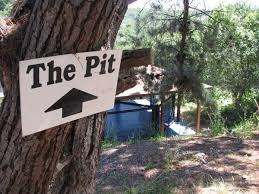 The training pit!