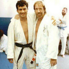 GM Carlos Machado and GGM Chuck Norris