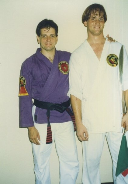GM Steve Demasco and shihan MIke Bush