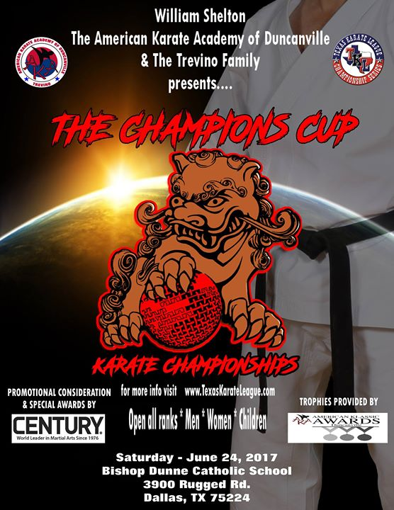 Champions Cup 2017   GM William Shelton - promoter