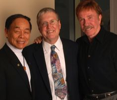 GGM Jhoon Rhee, GM Keith Yates, GGM Chuck Norris