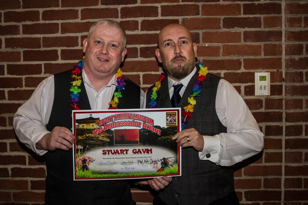 The Scott's! M Stuart Gavin and Adam Illidge
