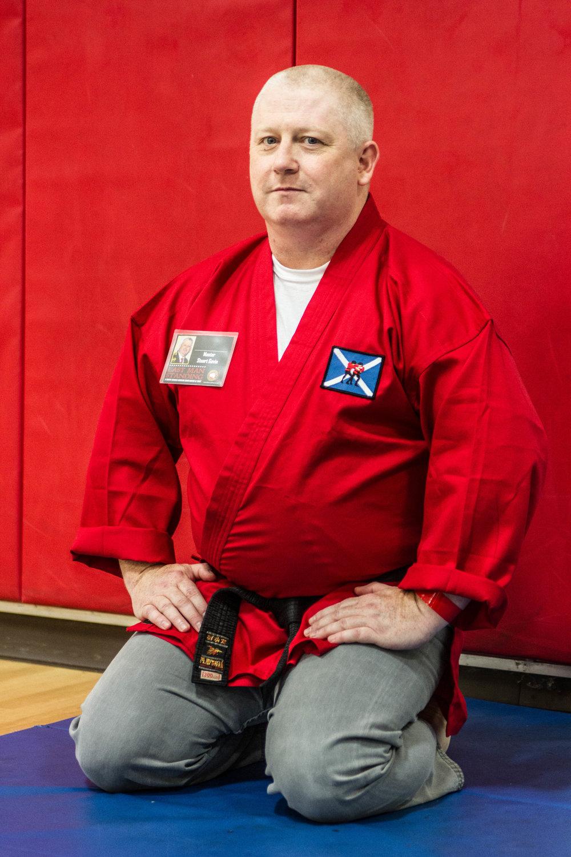 Master Stuart Gavin, Scottish Budo Assoc.