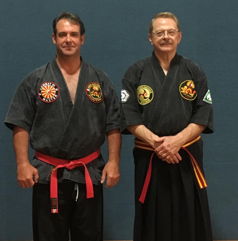 Master Nolan and Soke Rod Sacharnoski