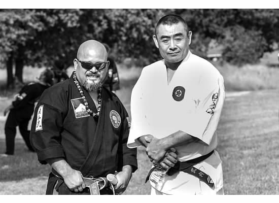 Shihan Nery with Shhihan Kiyoshi Takeuchi