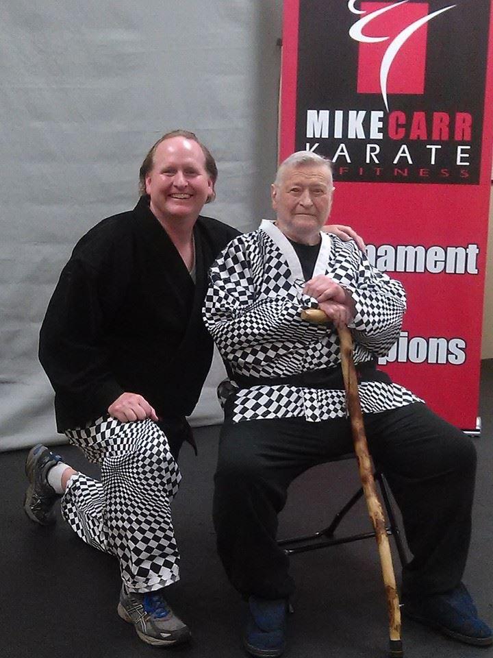 GM Mark Tracy with dad GGM Al Tracy