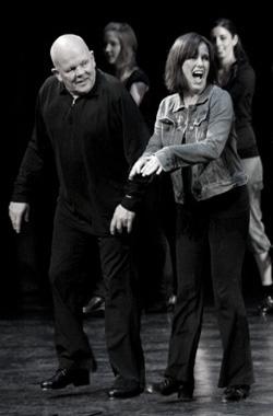 Jim Hibbard and Jennifer Bishop