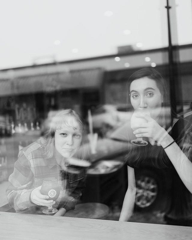 Gloomy Fridays are for coffee with friends. . . . #xoxonitroman #craftcoffee #smallcoffeeshop #baristalife #visitdecorah #driftless